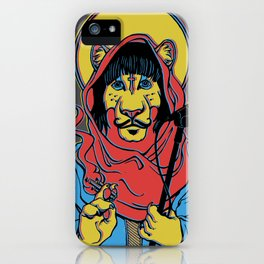 Foxy Shazam Poster iPhone Case