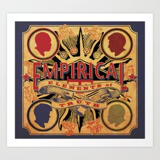 Empirical 'Elements of Truth' Album cover Art Print