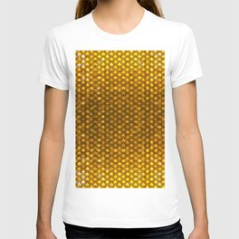 Chinese Scales Golden Dragon T-shirt