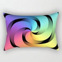 Spiraling Spirals Rectangular Pillow