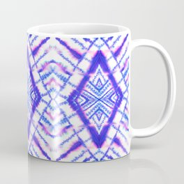 Dye Diamond Iridescent Blue Coffee Mug