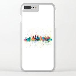 Kansas City Skyline Clear iPhone Case