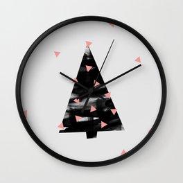 Christmas Tree 3 Wall Clock