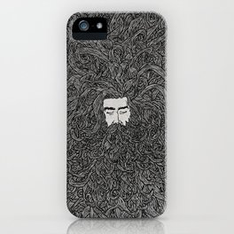 Lads' Hair iPhone Case