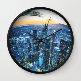 los angeles downtown Wall Clock