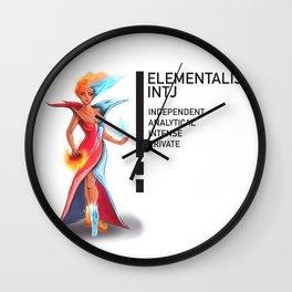 INTJ Elementalistist  Wall Clock