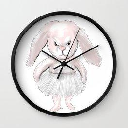Pink bunny Wall Clock