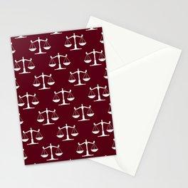 Libra Pattern Stationery Cards