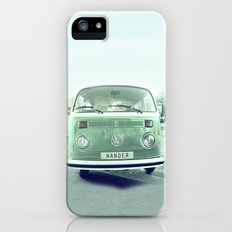 Vintage Wander wolkswagen. Summer dreams. Green iPhone (5, 5s) Slim Case