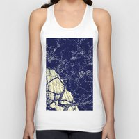 the lights Tank Tops featuring Lights by Maria Giorgi