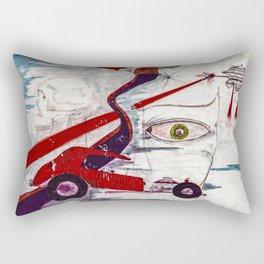 My minds eye when I was I was eighteen Rectangular Pillow