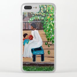 The Red Ball Clear iPhone Case