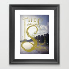 This Trend Shall Pass Framed Art Print