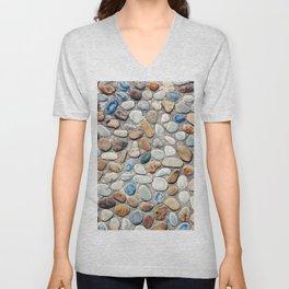 Pebble Rock Flooring V Unisex V-Neck