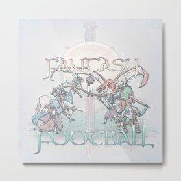 Fantasy Football Metal Print