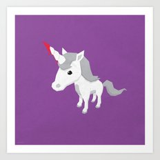 Accidental Legends: Unicorn Art Print