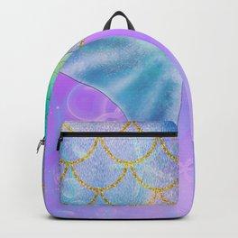 Mermaid Iridescent Shimmer Backpack