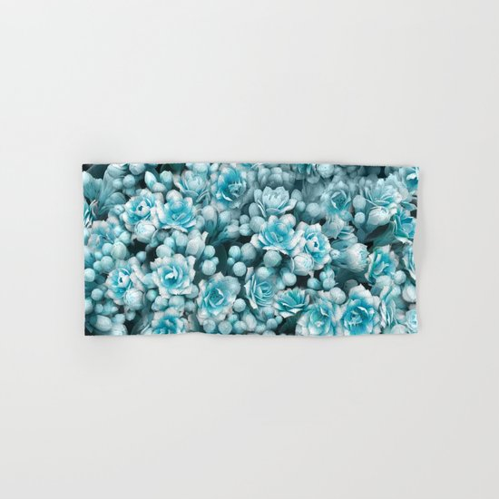 Blue flowers Hand & Bath Towel