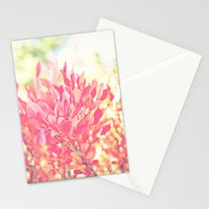 Burst of Red Stationery Cards