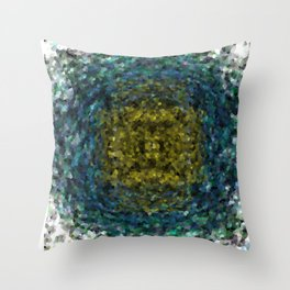 Geode Abstract 01 Throw Pillow