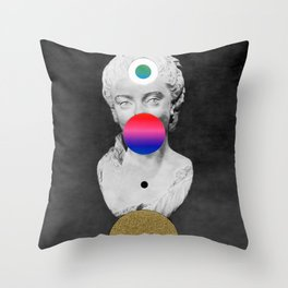 Orbit 20 Throw Pillow
