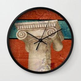 Pillar of Rome Wall Clock