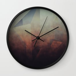 Dust and rust  Wall Clock