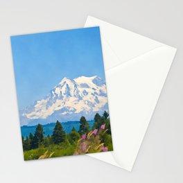 Majestic Mount Rainier Stationery Cards