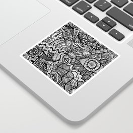 Doodle 5 Sticker