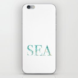 Sea Foam iPhone Skin