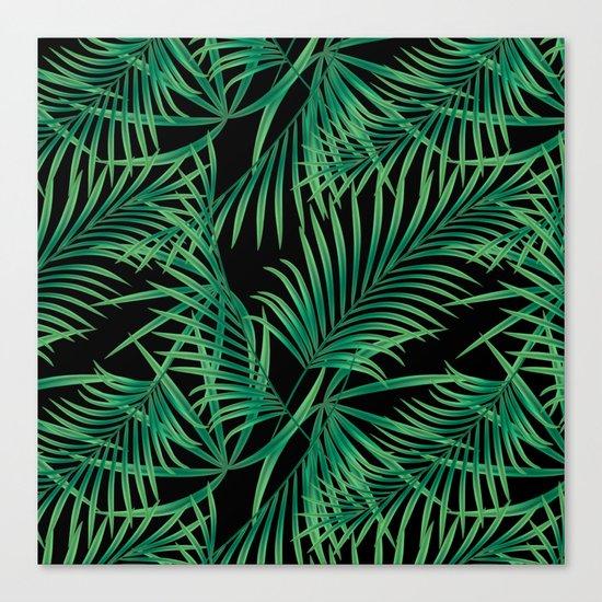 Tropical pattern. Canvas Print