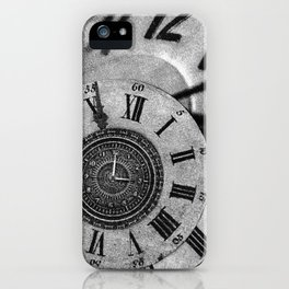 The measurement of time iPhone Case