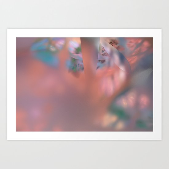 inside of the cell  (A7 B0196) Art Print