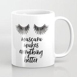 Girls Art Makeup canvas art Girly Makeup room Decor Girls quGirls Arote Makeup quotes Glamour Decor Coffee Mug