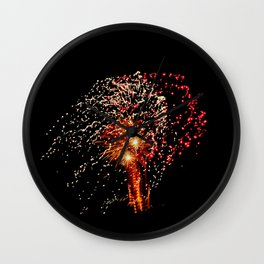 Fireworks 14 Wall Clock