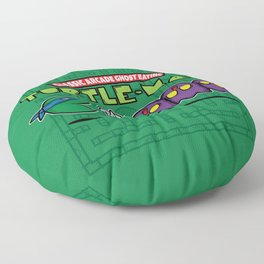 Hero in a Pac-Shell (Leo) Floor Pillow