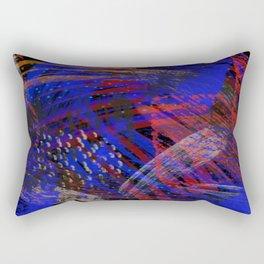 Abstract blue background Rectangular Pillow