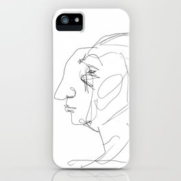 He looked older from the side iPhone Case