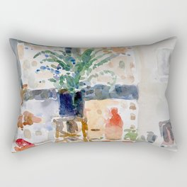 New York City Interior Rectangular Pillow