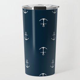 Anchor Print Travel Mug