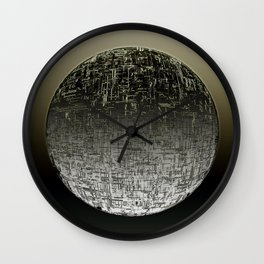 Planetary Mood 4 / Divergence Wall Clock