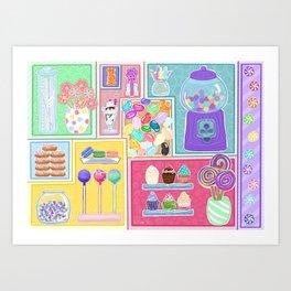 Sweets & Treats Art Print