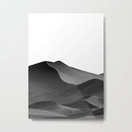 dunes(Black and white) Metal Print