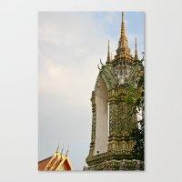 thailand Canvas Prints featuring Thailand by Michelle Frances Deacon
