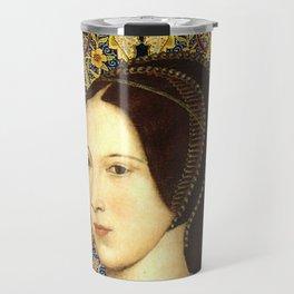 Queen Anne Boleyn Travel Mug