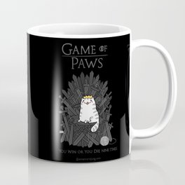 Game of Paws Coffee Mug