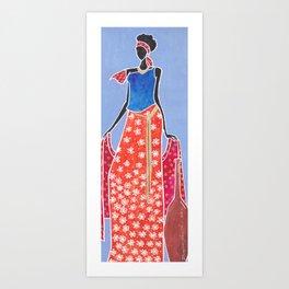 Black Empress  Art Print
