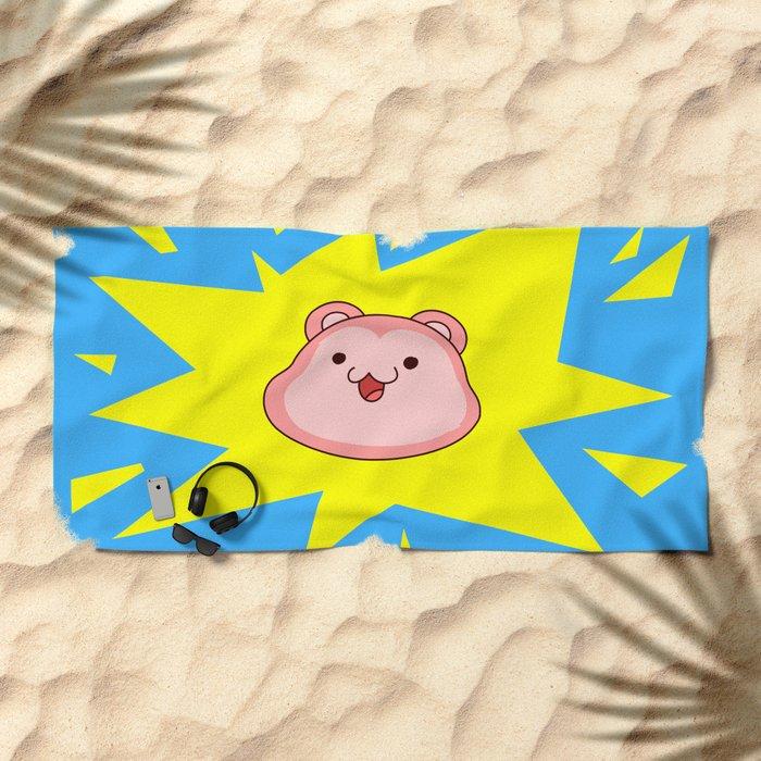 Peepoodo Pop Beach Towel