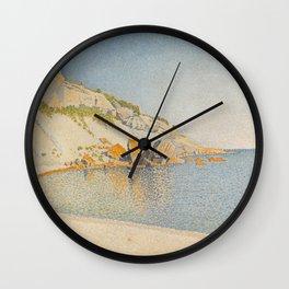 Cassis, Cap Lombard, Opus 196 Wall Clock