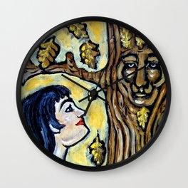 Mighty Oak * Nature Maidens Wall Clock